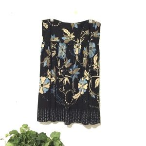 Covington Floral Skirt Sz 16